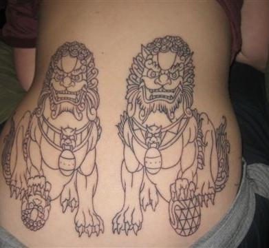 Japanese Foo Dog Tattoo Fu Dog Tattoo