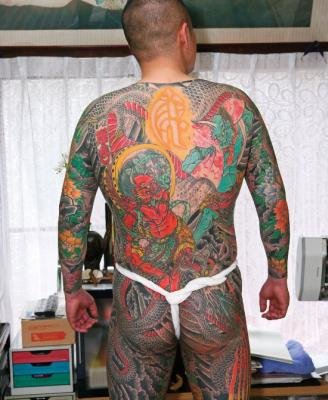 Japanese Tattoos Full Body Sleeve