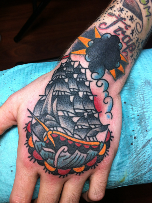 Shipwreak Traditonal Tattoo: American Traditional Tattoos