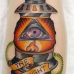 Katie Davis Lantern Tattoo