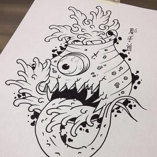 Tsukomogami tattoo