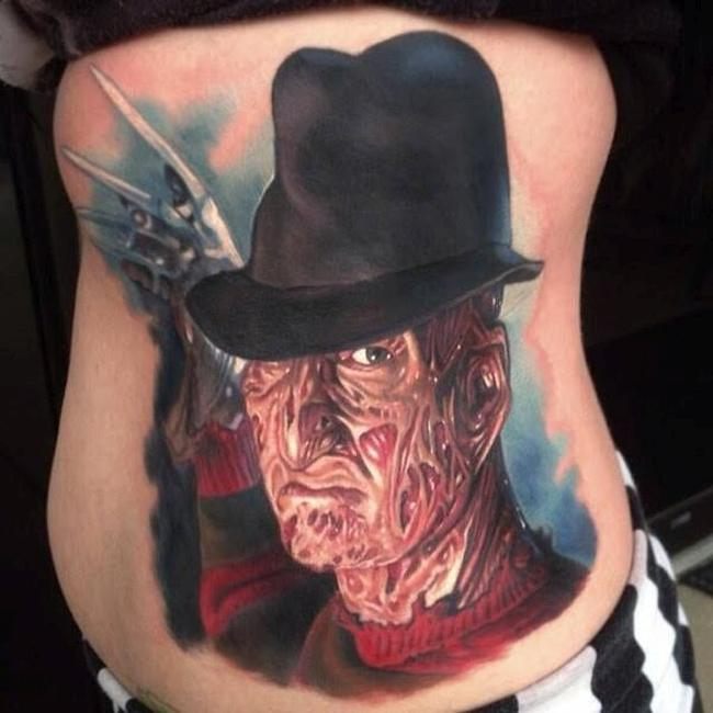 Freddy Krueger Nightmare on Elm St Tattoo