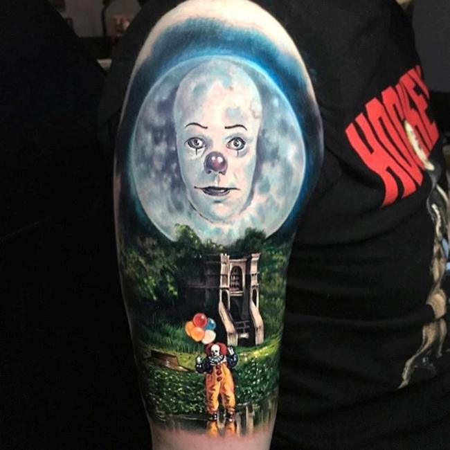 Pennywise IT tattoo